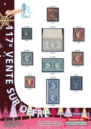 Couverture Catalogue vente sur offre n°117